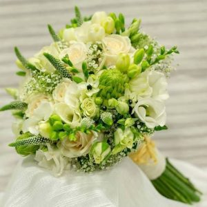 Ramo novia bouquet blanco