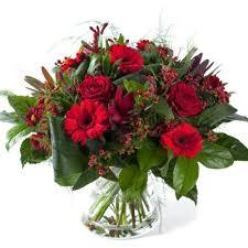 Bouquets rosa roja gerbera